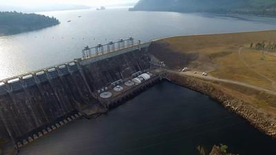 7-Noxon Rapids Dam and Reservoir