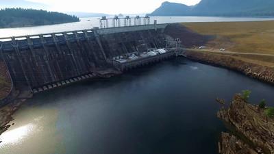 8-Noxon Rapids Dam and Reservoir, then looking down river_01