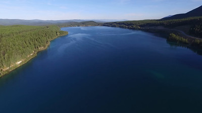 2-Looking around from high above Dickey Lake, Montana