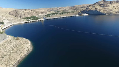 6-Above the Columbia River behind the Grand Coulee Dam