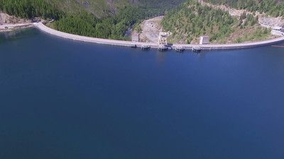Hungry Horse Dam and Lake