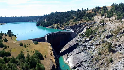 3-Only a tiny flow at Kerr Dam