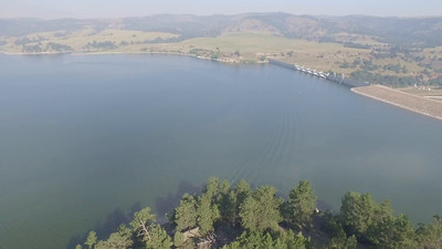 4-Flying from Observation point to dam