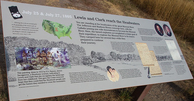6-Lewis and Clark reach the headwaters-IMG_8403