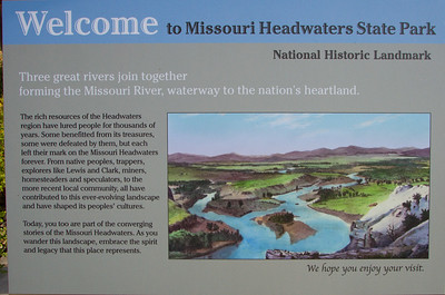 Lewis and Clark, and the Headwaters of the Missouri