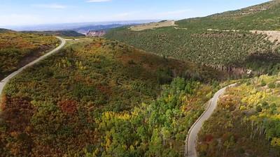 Fall Foliage in the Manti-LaSal Mountains