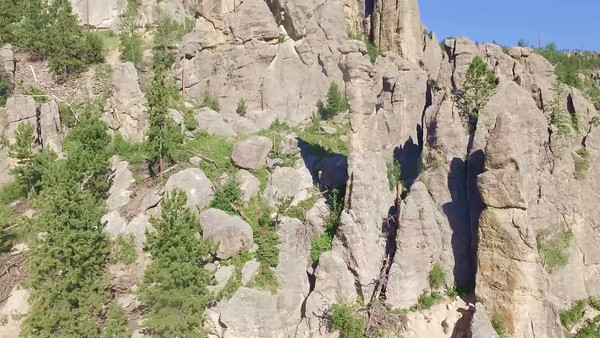 4-Soaring closer at the Cathedrals on the Needles Highway_01