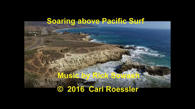 Soaring Above Pacific Surf
