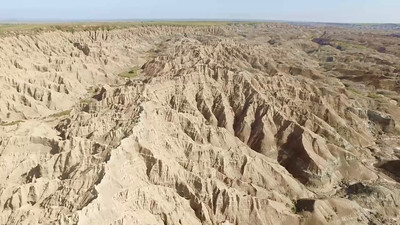 6-Don't lose your drone here!   Badlands