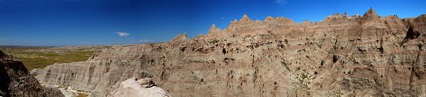 Canyon in Badlands-Panorama1