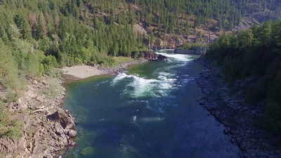 5-Lower portion of Kootenai Falls