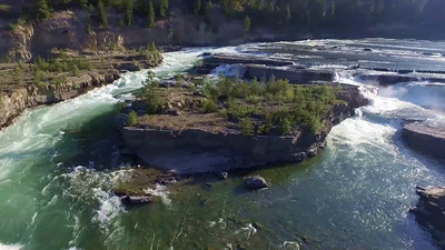3-Churning rapids at Kootenai