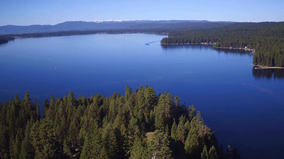 1-A boat on Payette Lake in McCall