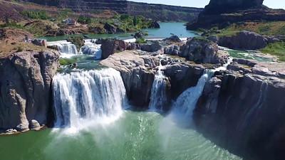 2-Portrait of the Shoshone Falls