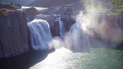 Shoshone Falls in morning Sun_02