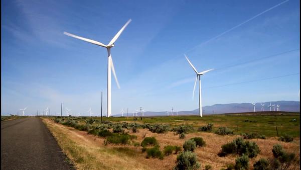 Wind Farm in Glenns Ferry
