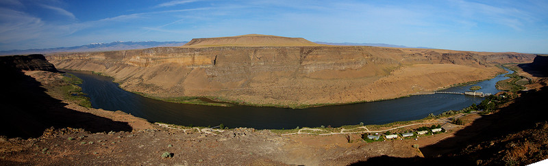 1A-Swan Falls Dam and valley_Panorama1