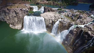 1-Shoshone Falls from above