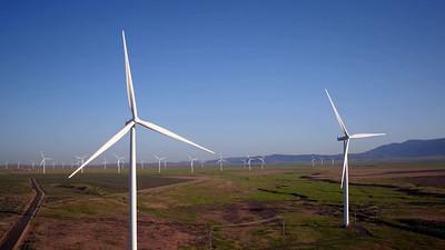 Wind Farm near Glenns Ferry