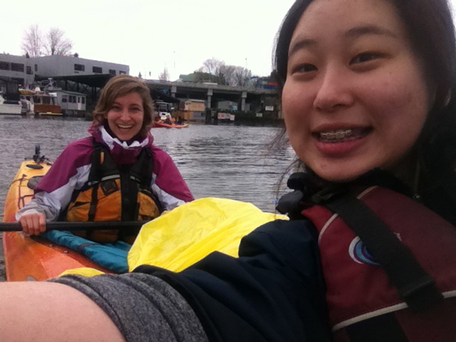 Kayak Cleanup on Lake Washington
