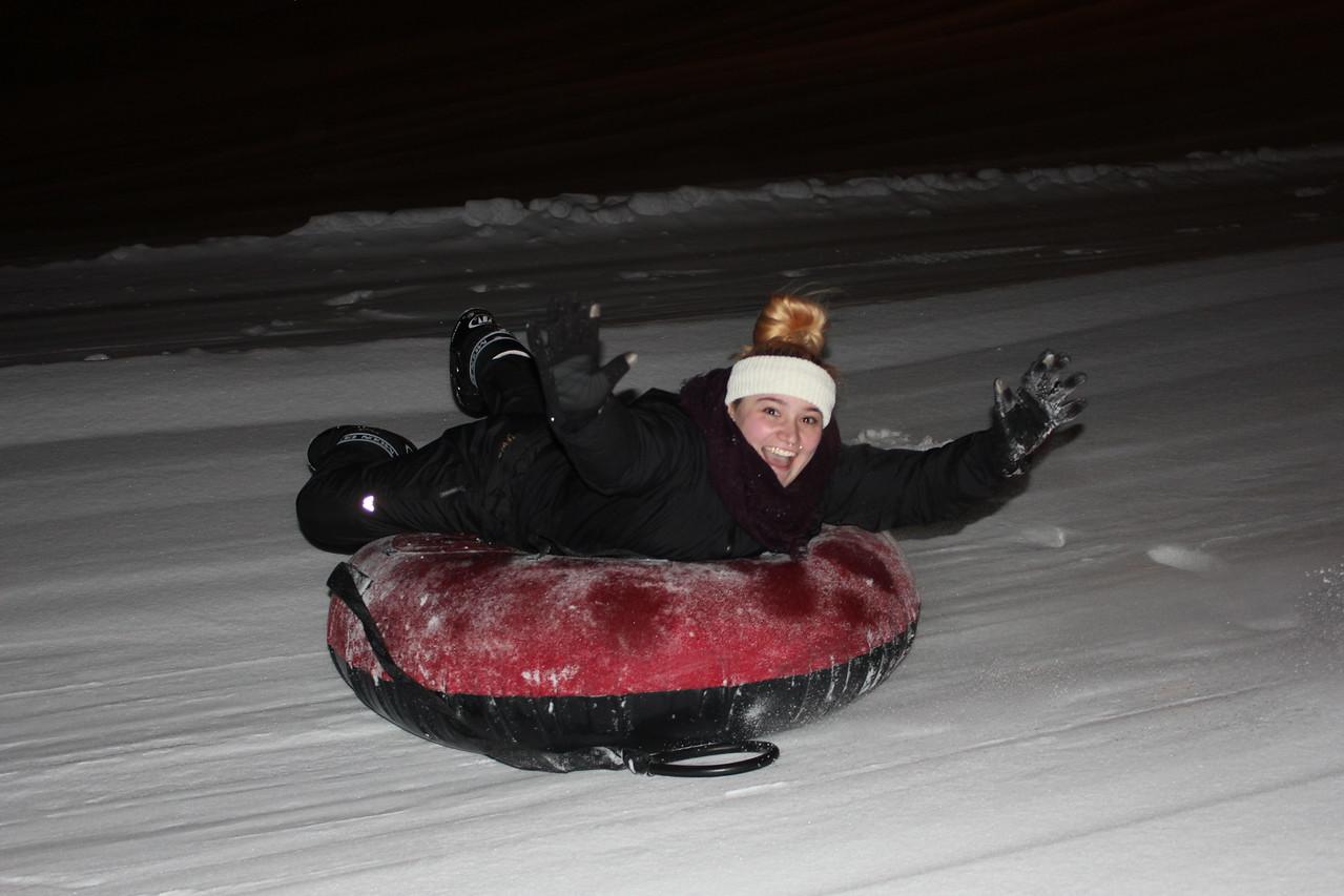 Snow tubing!
