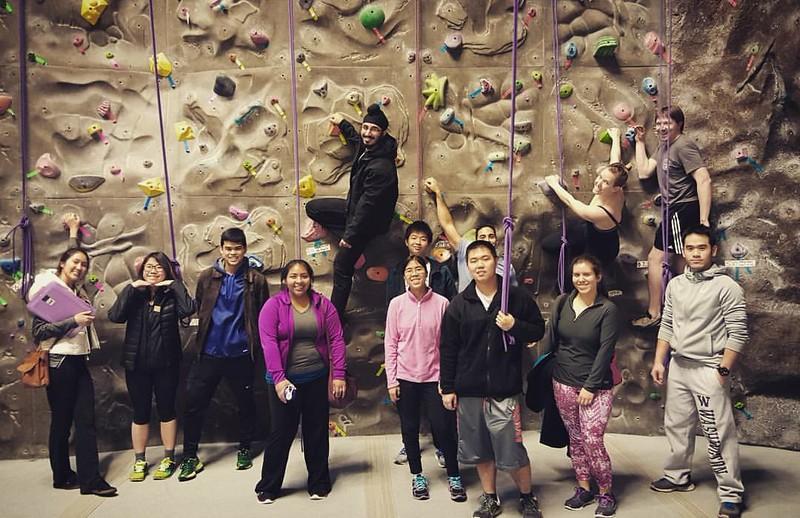 Rock Climbing at UW-Seattle