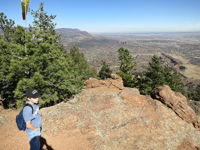 These first six shots with Tristan were taken high atop Section 16 on 10/24/12 - over seven months after the Youth Group Hike.