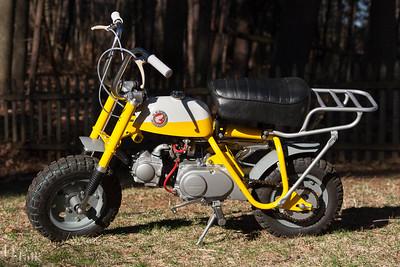 1968 Honda Z50 Rebuild