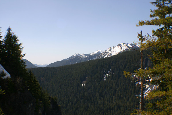 Mt Rainier, First Trip 4-23-06