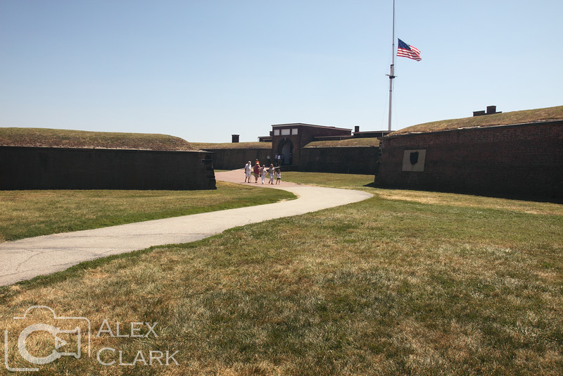 The afternoon was spent at historic Fort McHenry.