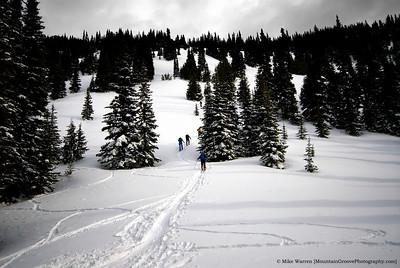 Bullion Basin Backcountry Ski