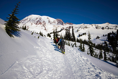 Edith Creek Ski Day