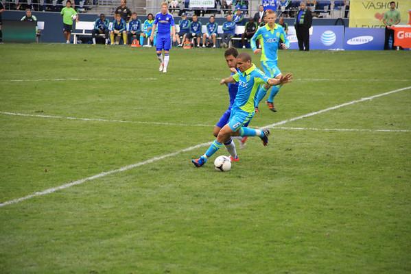 Sounders V Chelsea