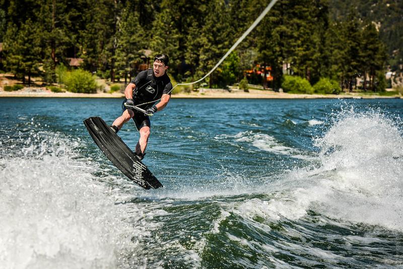 Big Bear Lake Wakeboarding Jump-8