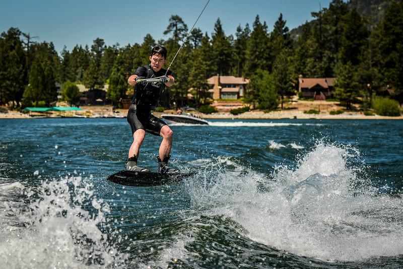 Big Bear Lake Wakeboarding Jump-9