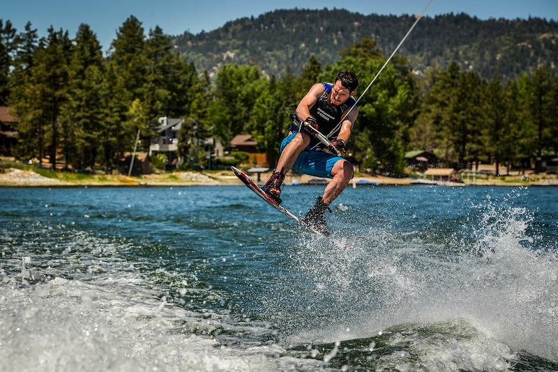 Big Bear Lake Wakeboarding Jump-12