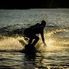 Big Bear Lake Sunset Wakeboarding-2