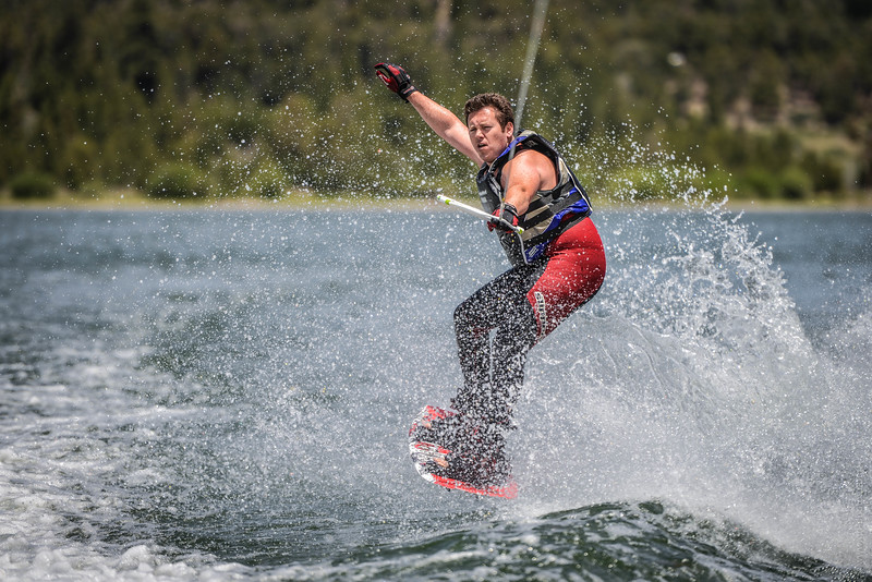 Big Bear Lake Wakeboarding Jump-1