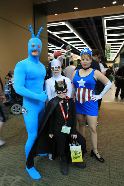 The Tick, Arthur, American Maid and Deflater Mouse or Batmanwell?