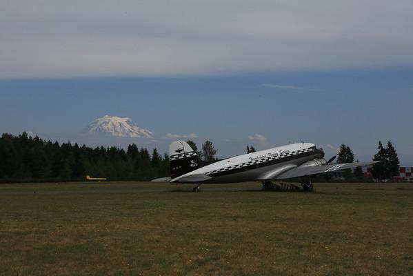 Flight down to Mt Rainier 7/7/2013