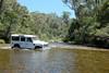Crossing the Murray River at Tom Groggin