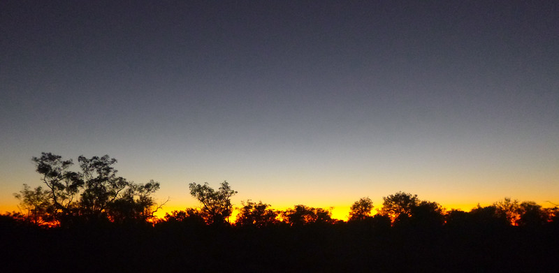 Sunset, Gundabooka National Park