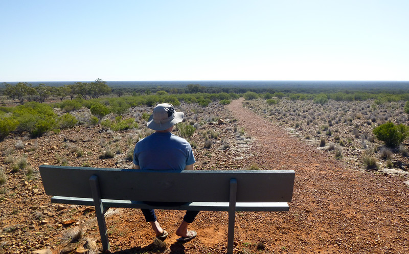 Valley of the Eagles, Gundabooka National Park, Bourke, NSW. A lot to think about.
