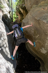 #43 - The consequences of a slip were significant! Sundance Canyon, AZ, June