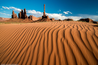 #46 - Totem.  Monument Valley, June