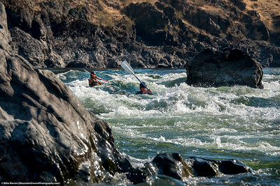#9 - Chris and Max.  Lower Salmon River, August