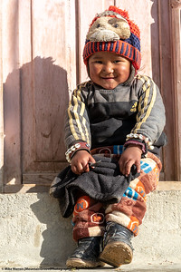 #35.  Backstory:  A little Nepalese boy is delighted to pose for his picture!
