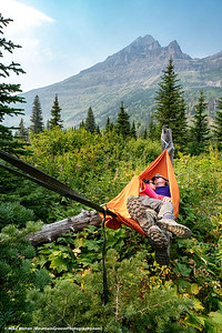 #6.  Backstory:  While on a week long backpack in Glacier NP in August, I scoffed at Tom when he pulled out a hammock.  But when he and Adora snuggled together, I was the one wishing I had such a great place to nap!