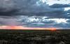 Richmond, North Queensland. Sunset.