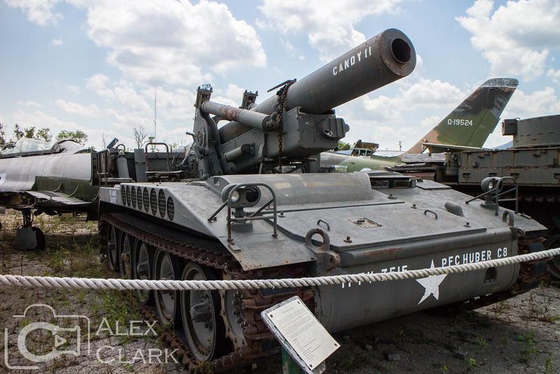 M-110 203mm Howitzer